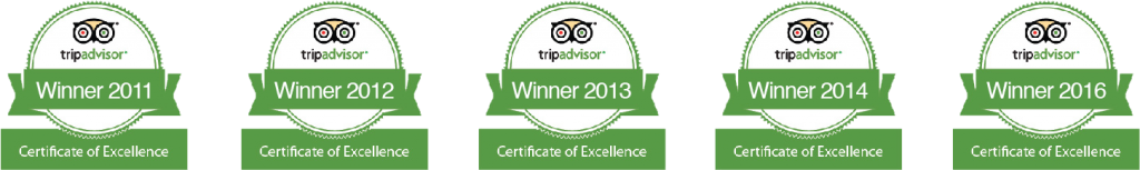 OVineyards-TripAdvisor-Certificate-of-Excellence-awards-2012-2013-2014-2015